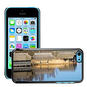Hot Style Cell Phone PC Hard Case Cover // M00307663 Nature Water Landscape Prerow // Apple iPhone 5C