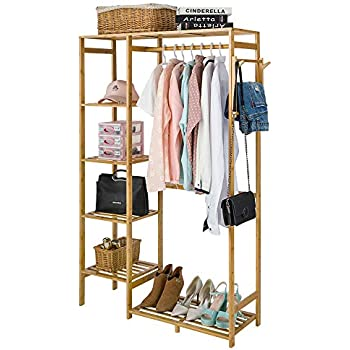 Amazon.com: IRIS USA Kids Dress Up Clothing Garment Rack ...