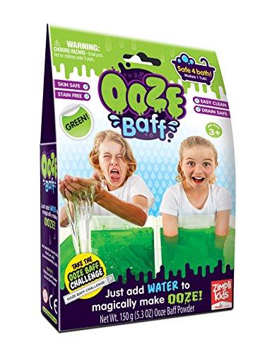 Zimpli Kids Ooze Baff- Single Use - Green 150g