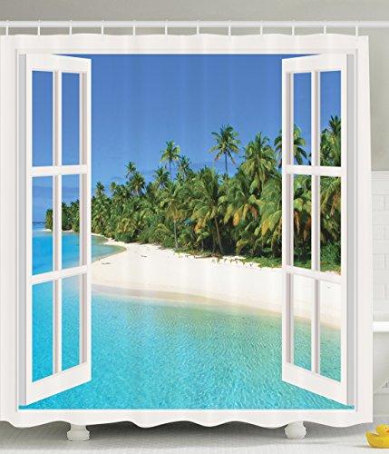 Curtains Paradise Decoration Bathroom Pictures