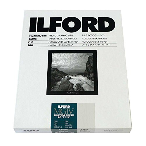 Ilford B&W Paper 8X10 Multigrade IV 100 Pack (Pearl) - Resin Coated Paper