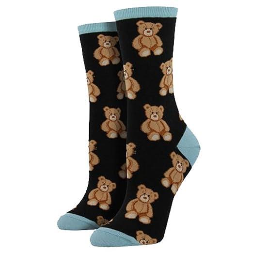 a710c0b7d7ed Amazon.com: Socksmith (Beary Sweet Black, Medium): Clothing