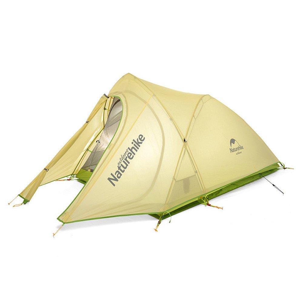 QAR Im Freien Kletterndes Feld, Das Ultra Helles Aluminiumstangenzelt Wasserdichtes Doppeltes Zelt Kampiert Zelt