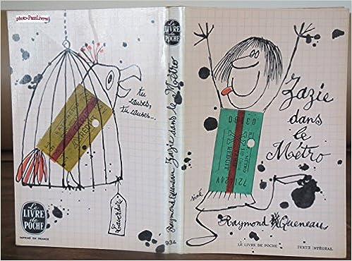 Amazon.com: Zazie dans le métro: Books