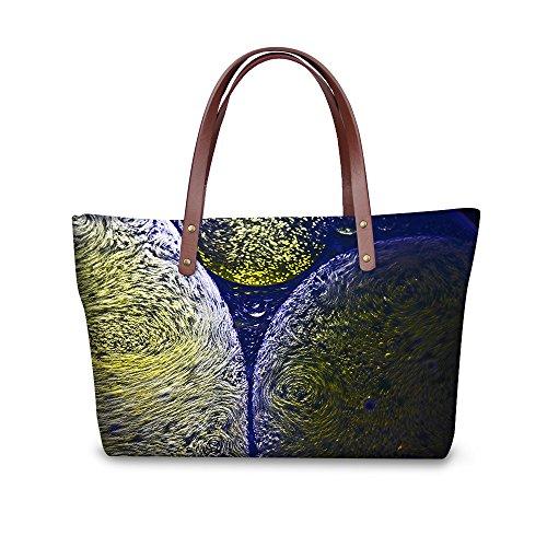 Large Handbags FancyPrint Shoulder Bags Women Casual C8wcc1521al zwZ4Pq