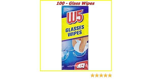 100 LIMPIEZA WIPES Adecuado para limpiar gafas, cámaras, binoculares, espejos de coche, viseras de casco, pantallas de ordenador, televisores, ...