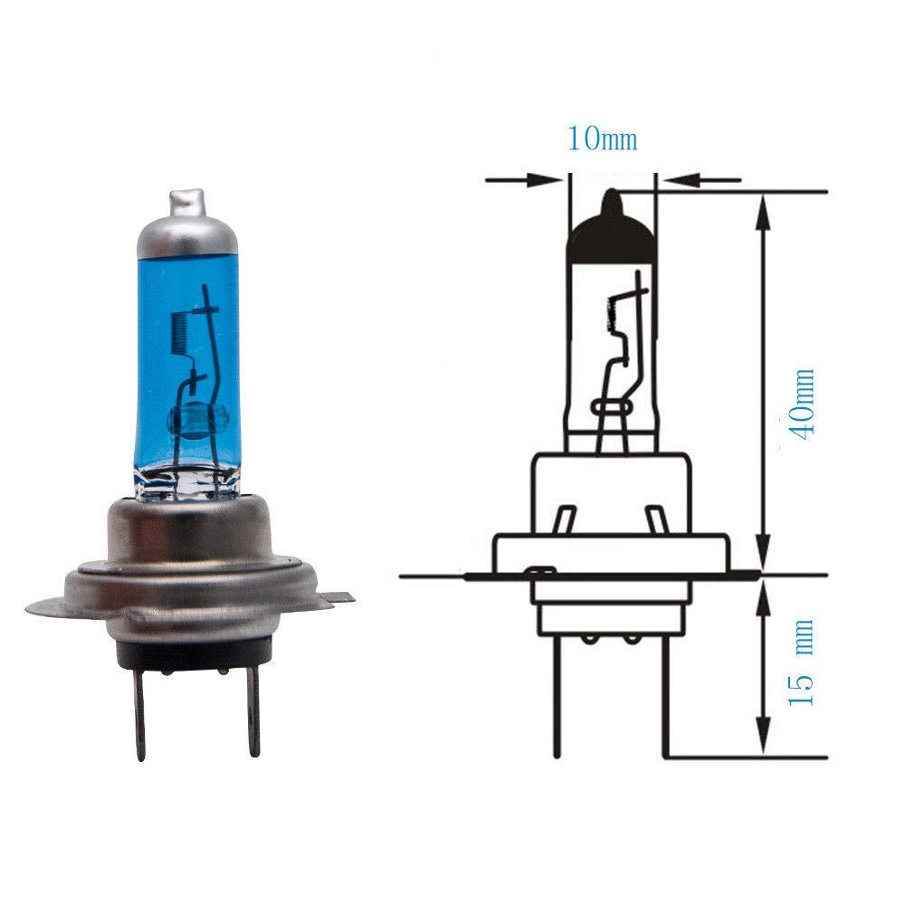 100W 6000K Xenon Halogen Headlamp,12V /… 2 x MASO Super White Vehicle Car Headlight Bulbs Xenon Headlight Bulb H4