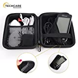 Hard Travel Case for TechCare Plus 24 Tens Unit Touch Massager Protective Shockproof Dustproof Water Resistant Light Weight Carrying Case [Lifetime Warranty]