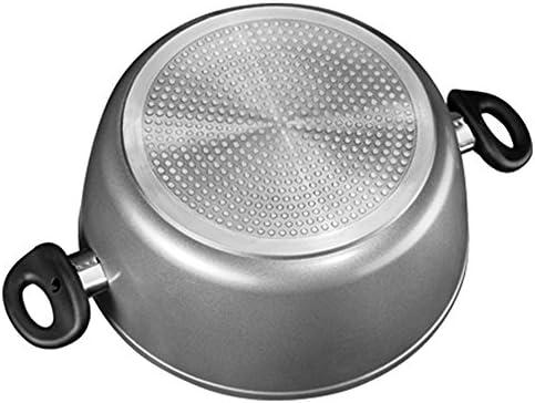 STONELINE Batterie de Cuisine, Fonte d'aluminium, Gris, 13-teilig