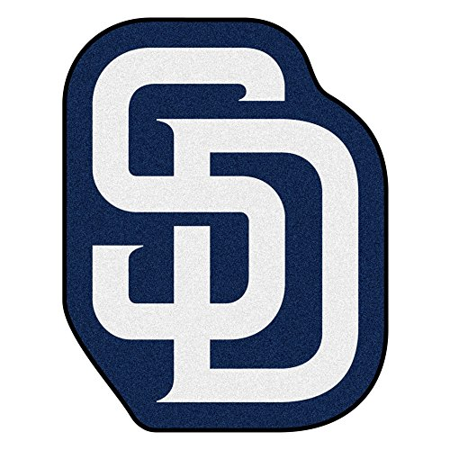 (FANMATS MLB San Diego Padres Mascot Mat, Team Color, One Size)