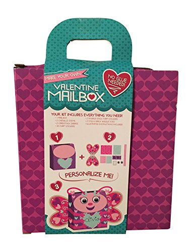 Make Your Own Butterfly Craft Kit Valentines Day Mailbox Makes One Mailbox