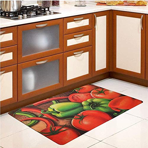 Brandream Kitchen Mat Anti Fatigue Cushioned Waterproof