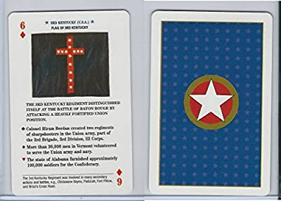 2002 U.S. Games, Flags Of Civil War, Diamond 6, 3rd Kentucky
