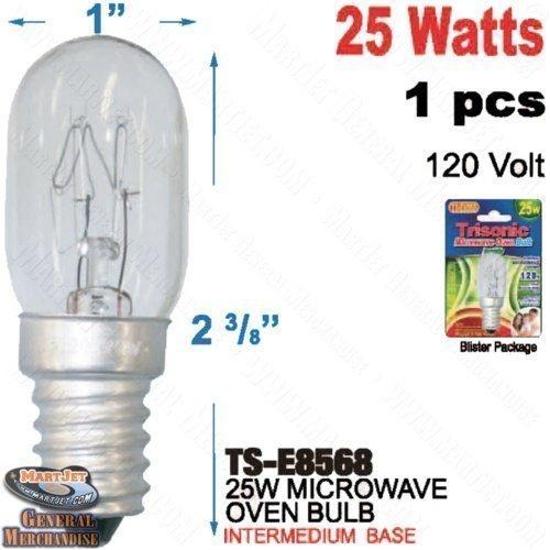 Microwave Oven 120v Screw Base Bulb