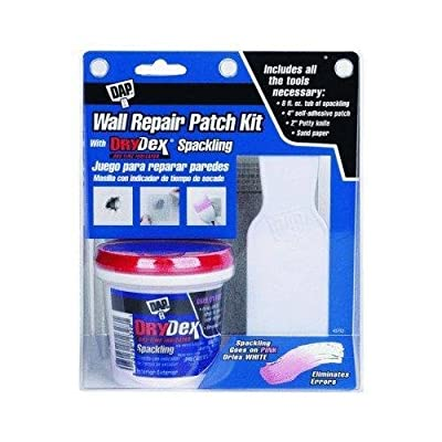 Dap 12345 drydex spackle; 1/2pt wall patch kt New