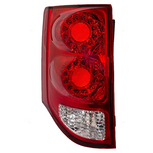 Taillight Tail Lamp Driver Replacement for 11-18 Dodge Grand Caravan Van 5182535AD