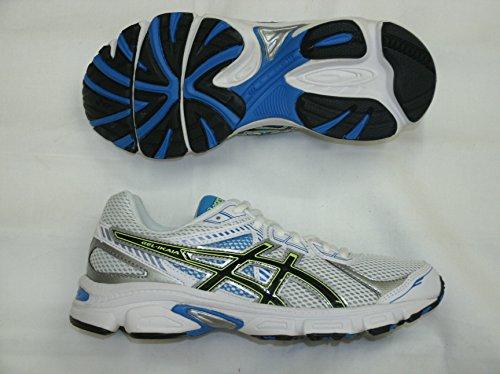 Asics Gel Ikaia 5 GS Zapatillas YCS blanco, azul y negro Talla:38,5 - blanco, azul y negro