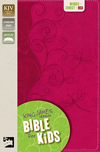 KJV, Bible for Kids, Imitation Leather, Pink