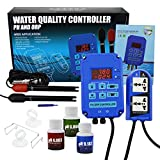 Digital pH ORP Redox 2 in 1 Controller Monitor