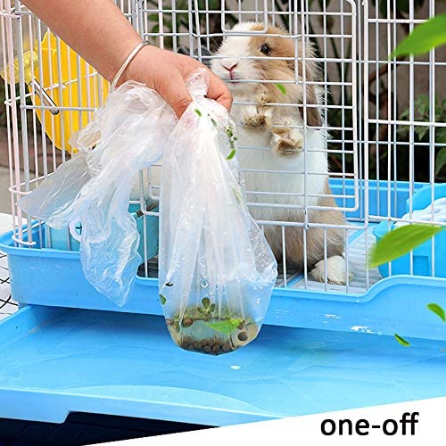 Rabbit Cage Liners Disposable Large Plastic Mat Films for Bunny Guinea Pigs Chinchillas Rats Hamsters Hedgehogs and Other Small Animals 37