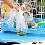 Rabbit Cage Liners Disposable Large Plastic Mat