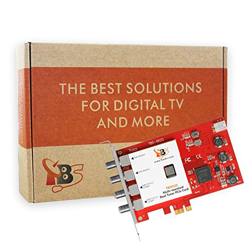 TBS Dual Tuner PCIe Card Multi Standard Digital TV Card Live TV/ Window/ Linux/ HTPC/ IPTV Server by TBS (Image #4)