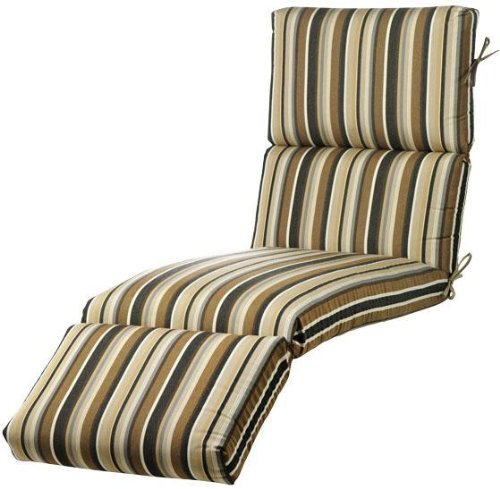 Bullnose Chaise Outdoor Cushion, 4