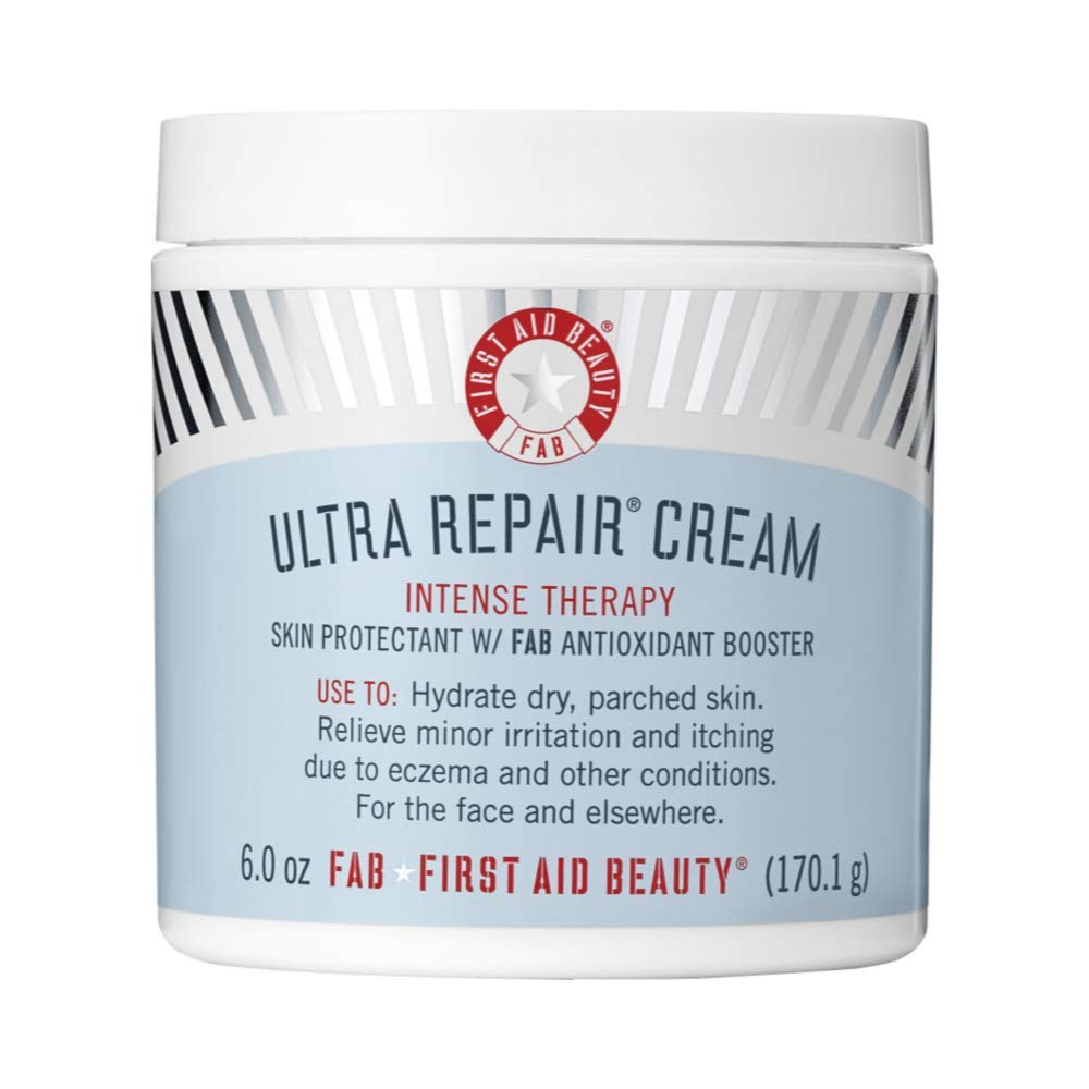 First Aid Beauty Ultra Repair Cream Intense Hydration, 6 oz by First Aid Beauty