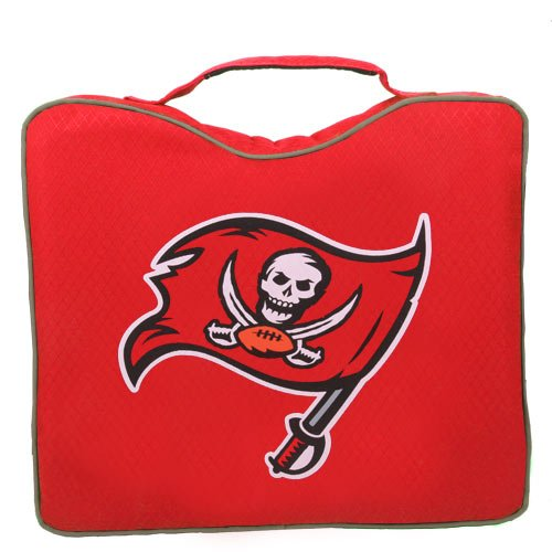 NFL Lightweight Stadium Bleacher Seat Cushion with Carrying Strap, Tampa Bay - Bay Tampa Coleman