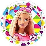 Barbie Sparkle Small Paper Plates (8ct)