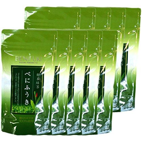 Japanese Tea Shop Yamaneen Benifuuki Powder 40G x 10packs by Japanese Tea Shop Yamaneen