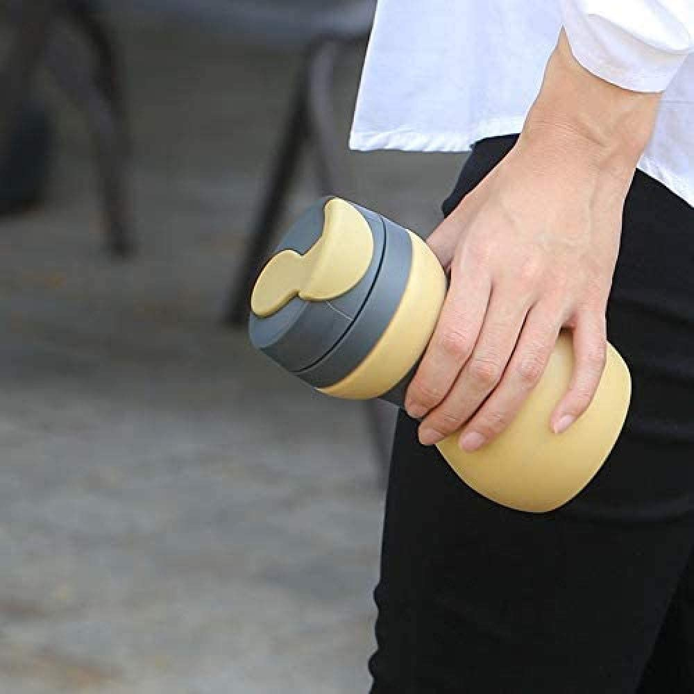 Silicone Collapsible Travel Mug, Reusable and Foldable Lightweight Pocket Size Cup