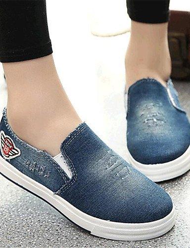 us8 Zapatos comfort Black us9 Plano Mujer Azul Eu40 Deporte exterior Uk6 Blue mocasines Cn41 Cn39 Light Casual Gyht De Eu39 vaquero negro tacón Zq Uk7 51Yq6Zw6