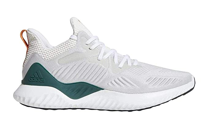 adidas Alphabounce Beyond NCAA Shoe - Men's Running 8.5 White/Dark Green