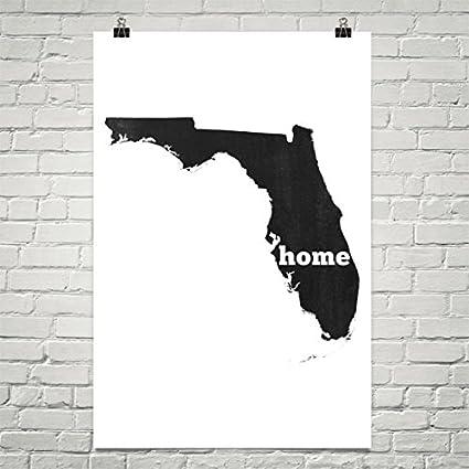State Map Of Florida.Amazon Com Florida Home Florida State Map Of Florida Florida Map