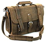 Classic Leather Briefcase Backpack, Bags Central