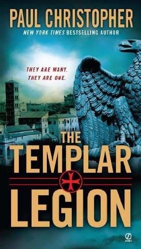 book cover of The Templar Legion