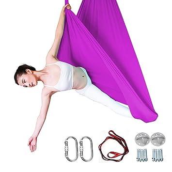 SHPEHP Hamaca para Yoga/Eslinga de Hamaca/Alivie el Dolor de ...