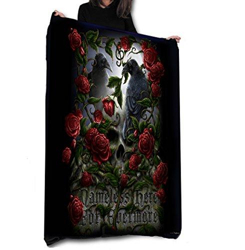 FOREVERMORE - Fleece Blanket / Throw / Tapestry etc / 147cm x 147cm / by Anne Stokes