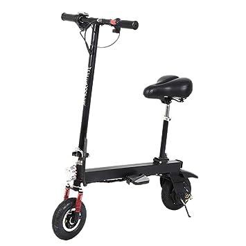 SYCHONG Scooter Eléctrico para Adultos, 150W Plegable ...