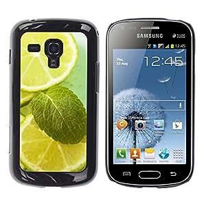 TopCaseStore / la caja del caucho duro de la cubierta de protección de la piel - - Samsung Galaxy S Duos S7562