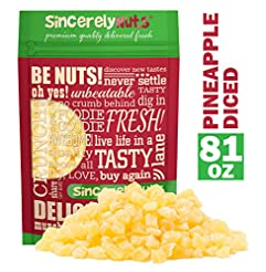 Sincerely Nuts - Dried Pineapple (Diced)...