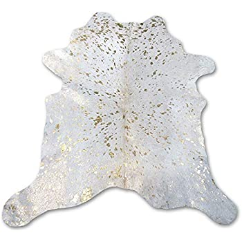 Amazon Com Deluxe Cowhides Cowhide Area Rug White