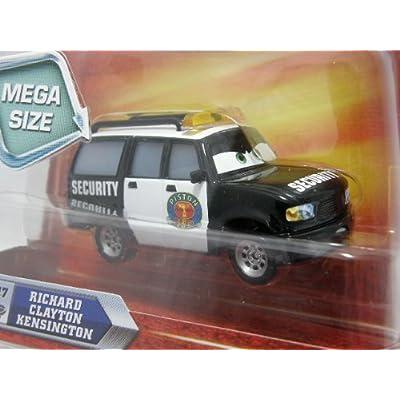Disney / Pixar CARS Movie 155 Die Cast Car Oversized Vehicle Richard Kensington Security Van: Toys & Games