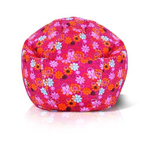 (Jordan Manufacturing BBJPK1-FLOPOW Junior Flower Power Print Bean Bag Chair)