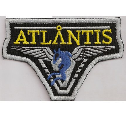 Patches 9N-0T7S-VHNY Stargate Atlantis Shoulder Patch Star Gate Special Force Iron On Patch Badge Insignia