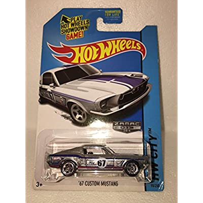 hot wheels '67 ford mustang coupe ZAMAC 50 years RARE hw city 93/250 zamac 2014: Toys & Games