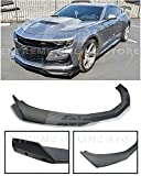 Replacement For 2019-Present Chevrolet Camaro LT LS RS SS Models | ZL1 1LE Style Front Bumper Lower Lip Splitter