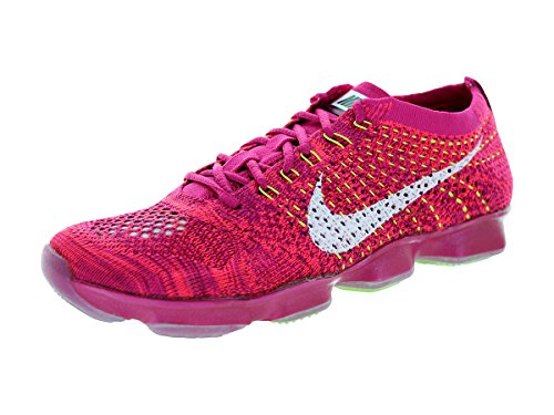 Nike Womens Flyknit Zoom Behendigheid Training Schoen Frbrry / Wit / Hypr Pnch / Rspbrry