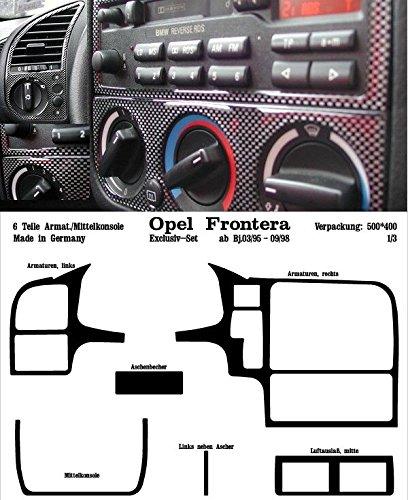 PreWoodec cabina decorativo para Opel Frontera UT 2/4 mod.95 Exklusiv 03.95 hasta